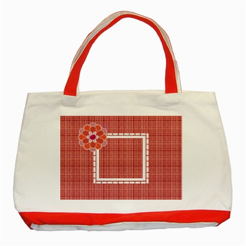 Christmas Red Bag By Daniela   Classic Tote Bag (red)   54du0rl1r9es   Www Artscow Com Front