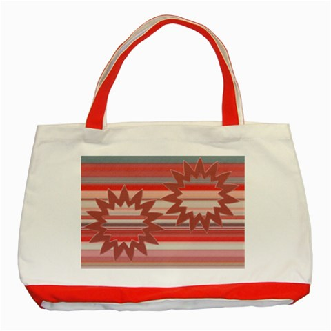 Christmas Tree By Daniela   Classic Tote Bag (red)   M1idu3vs1eu7   Www Artscow Com Front