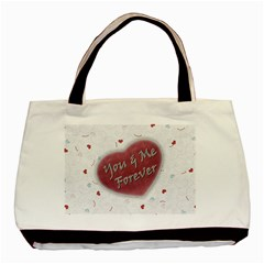 Me & You By Daniela   Basic Tote Bag (two Sides)   4ymwlmhzpsk0   Www Artscow Com Front