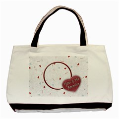 Me & You By Daniela   Basic Tote Bag (two Sides)   4ymwlmhzpsk0   Www Artscow Com Back
