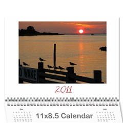 Dad & Jane 2011 By Christy Wills   Wall Calendar 11  X 8 5  (12 Months)   1cahwz3wd0wz   Www Artscow Com Cover