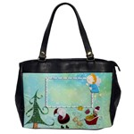 Pere Noel Oversized Office Bag - Oversize Office Handbag