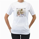 Women s T-Shirt (White) (Two Sided)