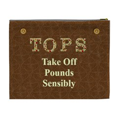 Tops2 By Cheryl   Cosmetic Bag (xl)   Y6bqt1l34kst   Www Artscow Com Back