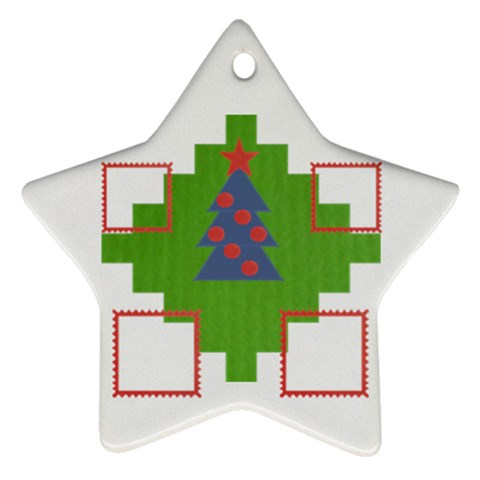 Family Tree By Daniela   Ornament (star)   8w0tl6hqhmnp   Www Artscow Com Front