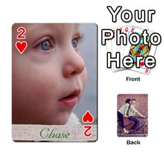 Cards2 By Jessica   Playing Cards 54 Designs   97zx747k8rvn   Www Artscow Com Front - Heart2