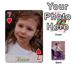 Cards2 By Jessica   Playing Cards 54 Designs   97zx747k8rvn   Www Artscow Com Front - Heart7
