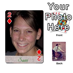 Cards2 By Jessica   Playing Cards 54 Designs   97zx747k8rvn   Www Artscow Com Front - Diamond2