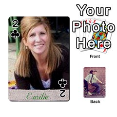 Cards2 By Jessica   Playing Cards 54 Designs   97zx747k8rvn   Www Artscow Com Front - Club2