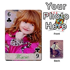 Cards2 By Jessica   Playing Cards 54 Designs   97zx747k8rvn   Www Artscow Com Front - Club6