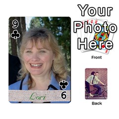 Cards2 By Jessica   Playing Cards 54 Designs   97zx747k8rvn   Www Artscow Com Front - Club9