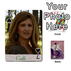 Cards2 By Jessica   Playing Cards 54 Designs   97zx747k8rvn   Www Artscow Com Front - Spade7