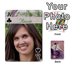 Ace Cards2 By Jessica   Playing Cards 54 Designs   97zx747k8rvn   Www Artscow Com Front - ClubA
