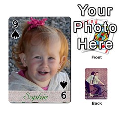Cards2 By Jessica   Playing Cards 54 Designs   97zx747k8rvn   Www Artscow Com Front - Spade9