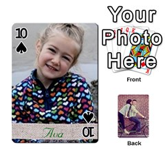 Cards2 By Jessica   Playing Cards 54 Designs   97zx747k8rvn   Www Artscow Com Front - Spade10