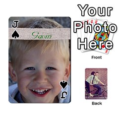 Jack Cards2 By Jessica   Playing Cards 54 Designs   97zx747k8rvn   Www Artscow Com Front - SpadeJ