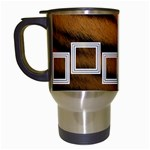 Tiger - TRAVEL MUG - Travel Mug (White)