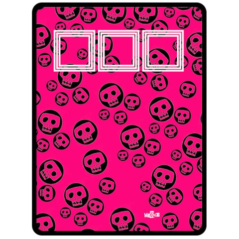 Pink And Black   Fleece Blanket (extra Large)  By Carmensita   Fleece Blanket (large)   Pd8sa4zqyqne   Www Artscow Com 80 x60 Blanket Front