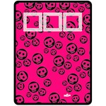 Pink and black - Fleece Blanket (Extra Large)