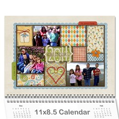 2011   Our Calendar By Julie   Wall Calendar 11  X 8 5  (12 Months)   9vs5aualx429   Www Artscow Com Cover