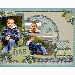 2011   Our Calendar By Julie   Wall Calendar 11  X 8 5  (12 Months)   9vs5aualx429   Www Artscow Com Month