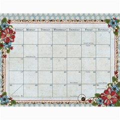 2011   Our Calendar By Julie   Wall Calendar 11  X 8 5  (12 Months)   9vs5aualx429   Www Artscow Com Jul 2011