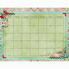 2011   Our Calendar By Julie   Wall Calendar 11  X 8 5  (12 Months)   9vs5aualx429   Www Artscow Com Dec 2011