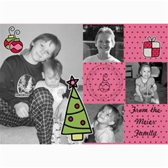 Multi Photo Christmas Card 7 By Martha Meier   5  X 7  Photo Cards   Zjg7hohamsns   Www Artscow Com 7 x5 Photo Card - 1