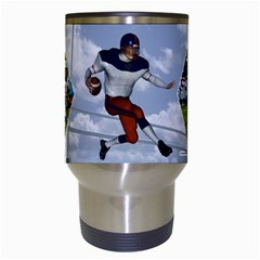 Football Mug By Snackpackgu   Travel Mug (white)   F3vpmoiy1bke   Www Artscow Com Center