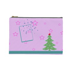 Christmas Tree By Daniela   Cosmetic Bag (large)   778v5f5zlhir   Www Artscow Com Front