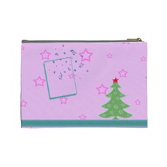 Christmas Tree By Daniela   Cosmetic Bag (large)   778v5f5zlhir   Www Artscow Com Back
