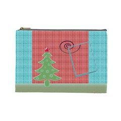 Christmas By Daniela   Cosmetic Bag (large)   Df3yalo7qi77   Www Artscow Com Front