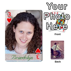 Cards By Jessica   Playing Cards 54 Designs   H4y97ijv0aa2   Www Artscow Com Front - Heart3