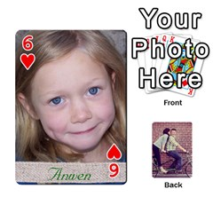 Cards By Jessica   Playing Cards 54 Designs   H4y97ijv0aa2   Www Artscow Com Front - Heart6