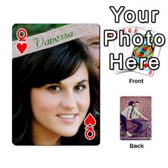 Queen Cards By Jessica   Playing Cards 54 Designs   H4y97ijv0aa2   Www Artscow Com Front - HeartQ
