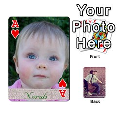 Ace Cards By Jessica   Playing Cards 54 Designs   H4y97ijv0aa2   Www Artscow Com Front - HeartA