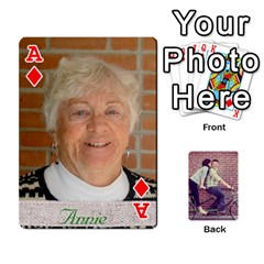 Ace Cards By Jessica   Playing Cards 54 Designs   H4y97ijv0aa2   Www Artscow Com Front - DiamondA
