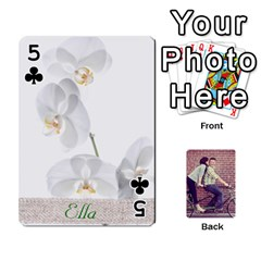 Cards By Jessica   Playing Cards 54 Designs   H4y97ijv0aa2   Www Artscow Com Front - Club5