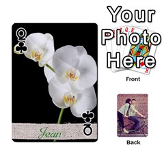 Queen Cards By Jessica   Playing Cards 54 Designs   H4y97ijv0aa2   Www Artscow Com Front - ClubQ