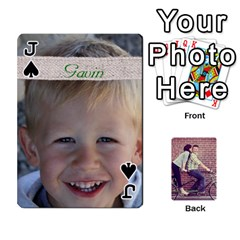 Jack Cards By Jessica   Playing Cards 54 Designs   H4y97ijv0aa2   Www Artscow Com Front - SpadeJ