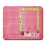 Love mousepad - Large Mousepad