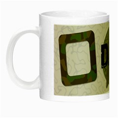 Dad Cammo Mug By Amanda Bunn   Night Luminous Mug   Ax5vryzg2001   Www Artscow Com Left