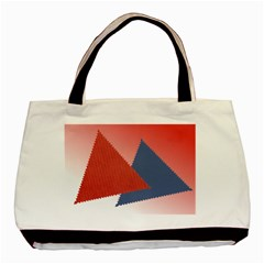 Triangles By Daniela   Basic Tote Bag (two Sides)   9r9iww5vvo8g   Www Artscow Com Front