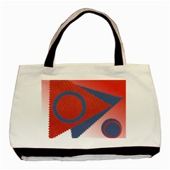 Triangles By Daniela   Basic Tote Bag (two Sides)   9r9iww5vvo8g   Www Artscow Com Back