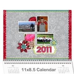 Calendar  2011 By Christina   Wall Calendar 11  X 8 5  (12 Months)   Gu1wgen6zcxy   Www Artscow Com Cover