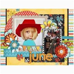 Calendar  2011 By Christina   Wall Calendar 11  X 8 5  (12 Months)   Gu1wgen6zcxy   Www Artscow Com Month