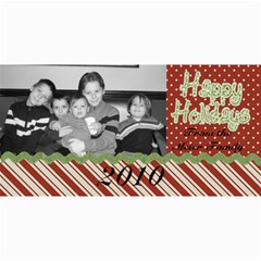 Single Photo Christmas Card By Martha Meier   4  X 8  Photo Cards   0k21bx2brxcn   Www Artscow Com 8 x4 Photo Card - 3