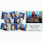 Vondo christmas card - 4  x 8  Photo Cards