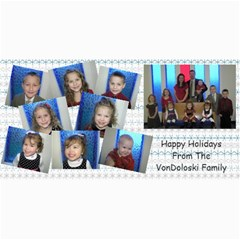 Vondo Christmas Card By Jamee Garrison   4  X 8  Photo Cards   1o7d4y7ww8zb   Www Artscow Com 8 x4 Photo Card - 4