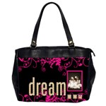 Dream Create Inspire oversized office bag - Oversize Office Handbag (Two Sides)